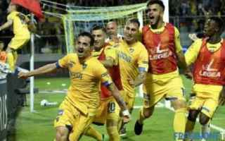 Serie B: frosinone  palermo  finale  playoff  a