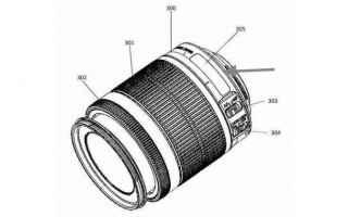 canon brevetto fotografia