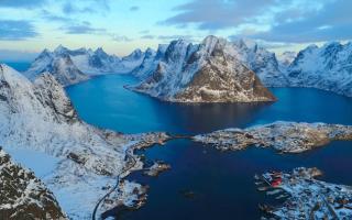 norvegia drone 4k video