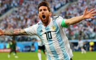 Calcio: francia  argentina