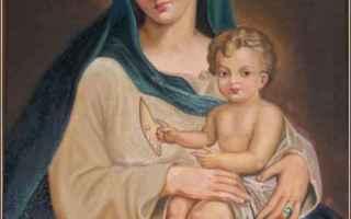 Religione: madonna delle grazie  maria  regina