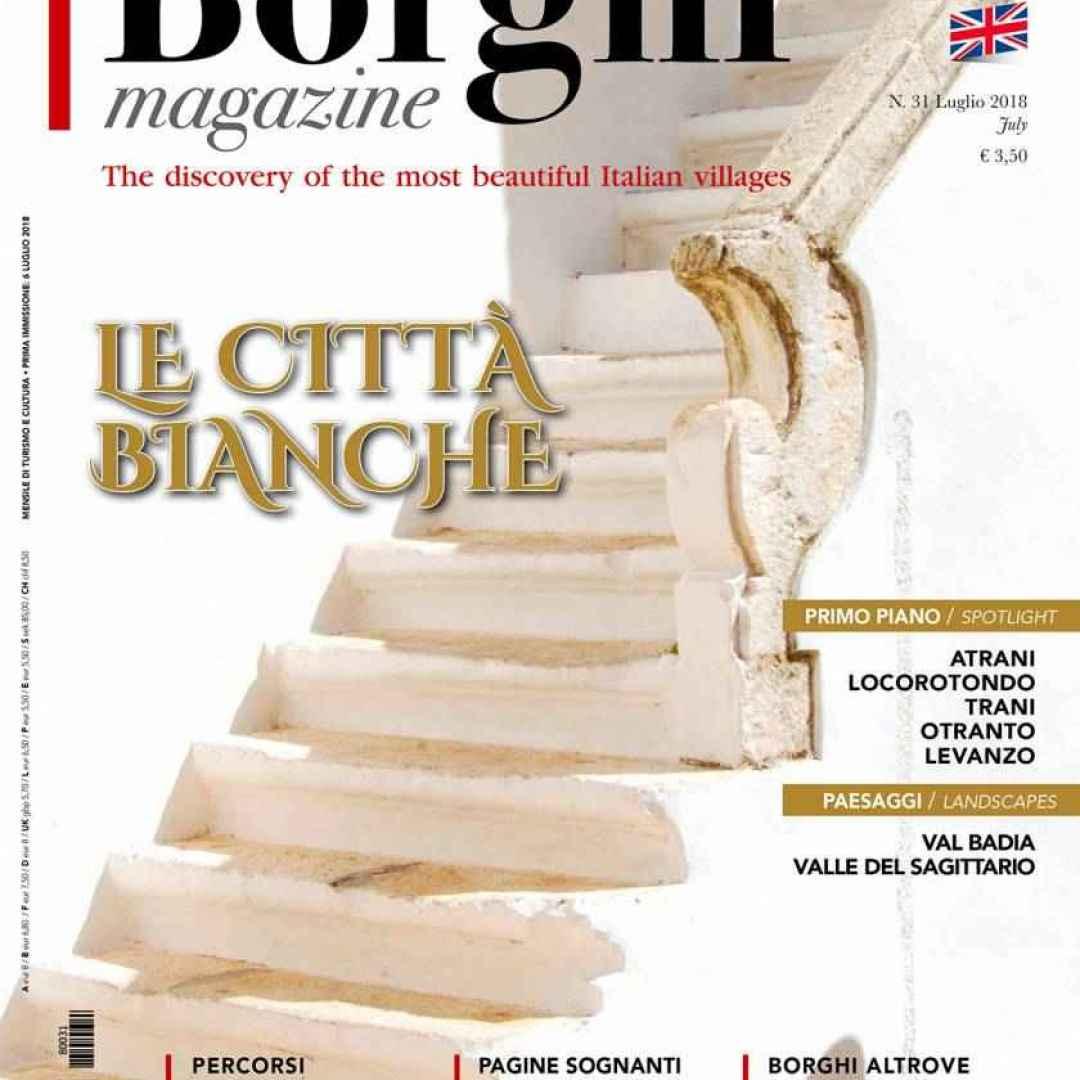É uscito il numero di luglio di Borghi Magazine! Leggi l
