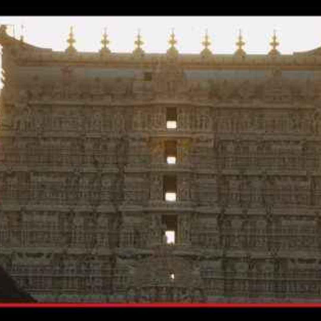 Il tesoro maledetto sotto il tempio di Padmanabhaswamy