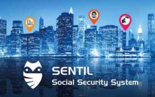 App: sicurezza  crimini  android  social  app