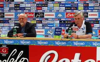 Serie A: napoli  de laurentiis  stampa