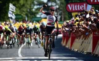 Anche oggi al Tour cè stata una tappa, ricca di colpi scena, combattuta tutto il giorno, vinta da D