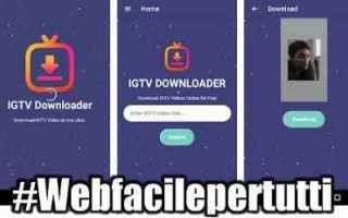 Instagram: igtv downloader