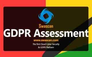 Sicurezza: gdpr  gdpr assessment  swascan