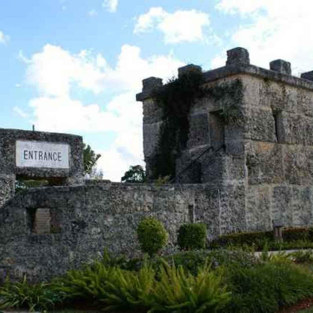 Per le curiosità della domenica, scopriamo il misterioso castello di corallo di Miami