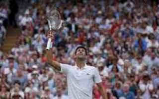 La finale maschile del torneo di tennis di Wimbledon si giocherà oggi alle 15 e a sfidarsi saranno