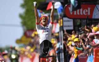 Ciclismo: TOUR DE FRANCE: DEGENKOLB BATTE VAN AVERMAET