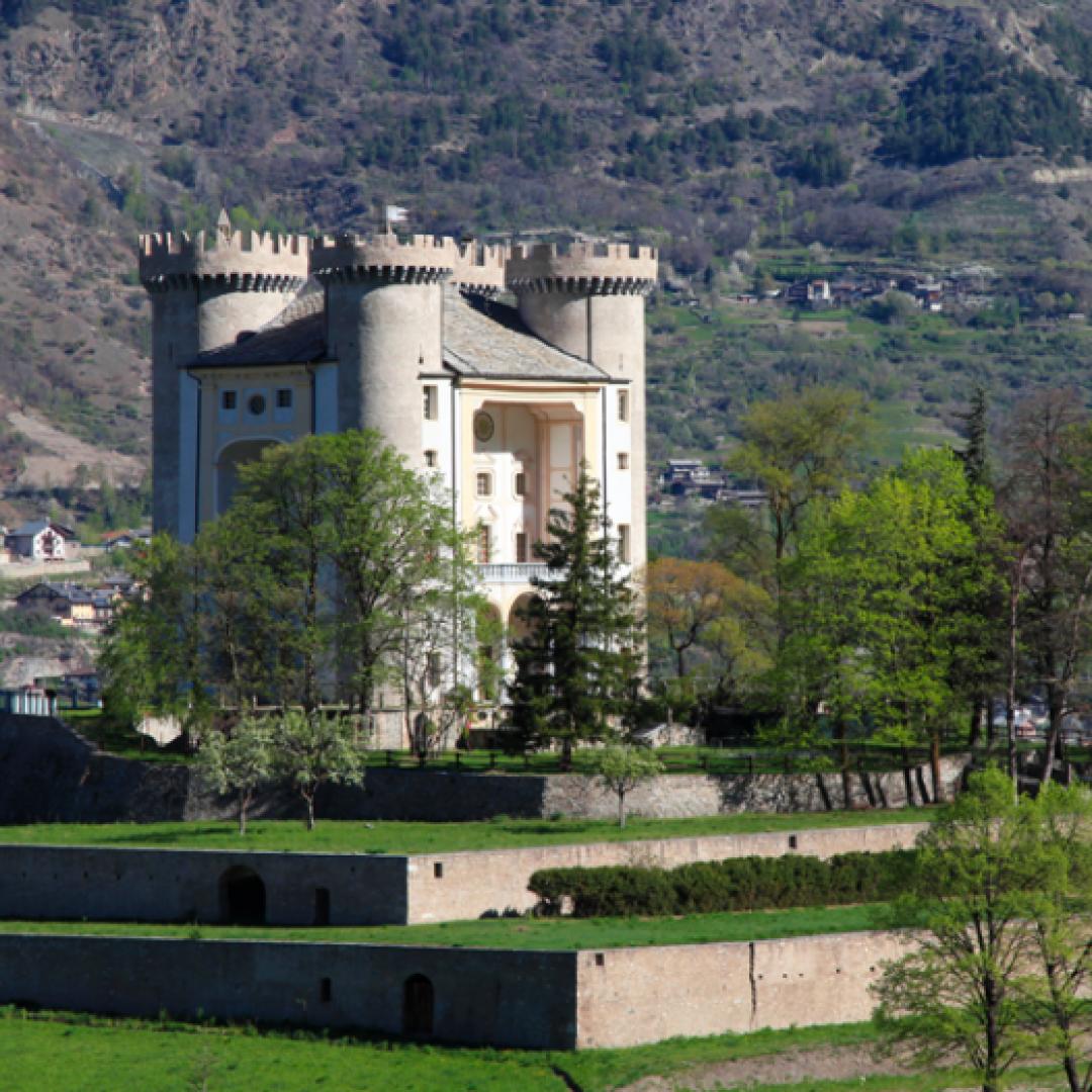 Il restaurato Castello di Aymavilles, da scoprire dal 4 al 26 agosto