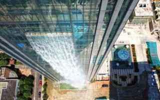 Architettura: architettura  cina  edifici  cascate