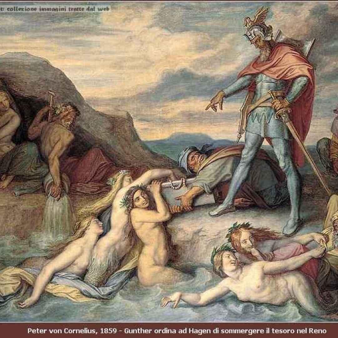 saga dei nibelunghi  sigfrido  tronje
