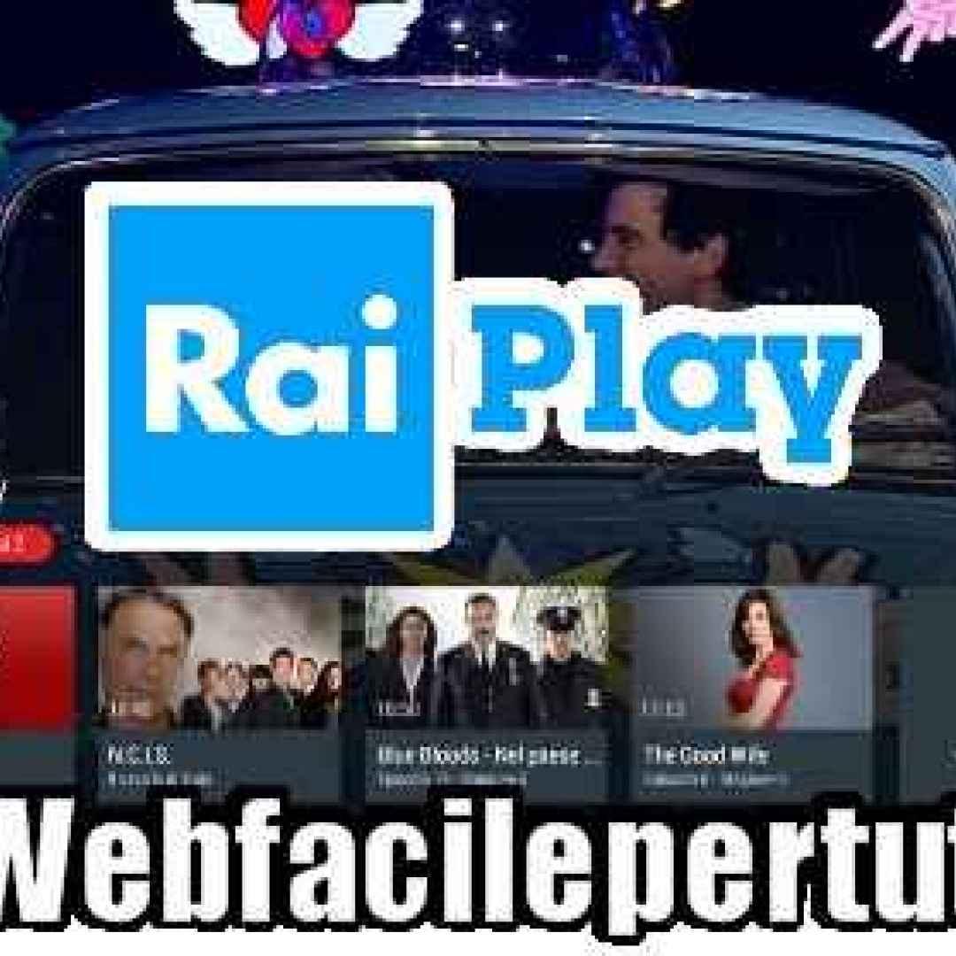 tv rai streaming rayplay