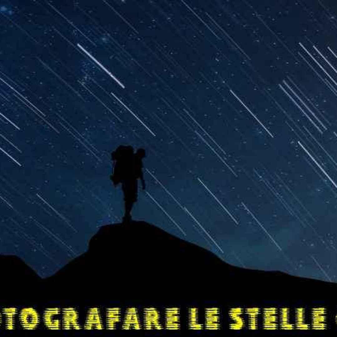 stelle cielo fotografia