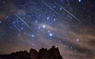 Scienze: stelle  cadenti  geologia  scienza