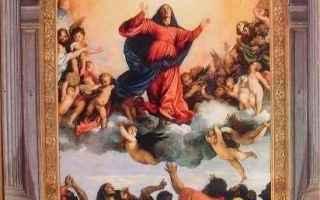 Religione: assunzione  cielo  dogma  immacolata