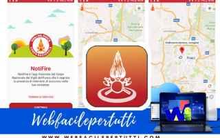 App: app notifire vigili del fuoco