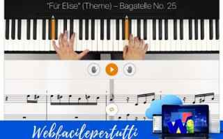 App: flowkey app pianoforte
