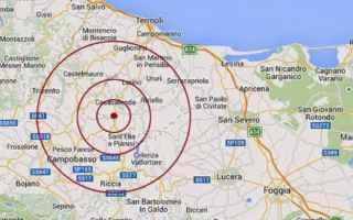 Notizie locali: terremoto  italia  notizie  molise