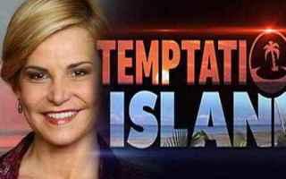 Televisione: temptation island  coppie vip