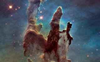 Astronomia: hubble  pilastri della creazione
