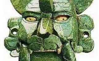 Cultura: archeologia  maschere maya  mica