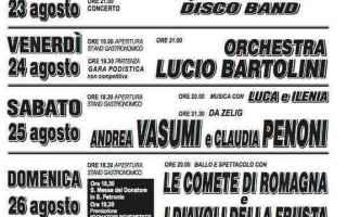 Notizie locali: castel bolognese  avis  festa