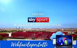 Televisione: sky sky sport