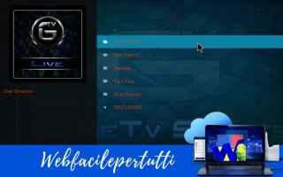Software Video: genietv  kodi sports