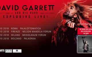 Musica: david  garrett  explosive  tour  italia