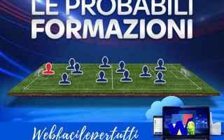 Serie A: sassuolo inter formazioni serie a