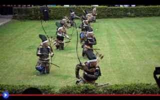 giappone  samurai  arco  frecce  sport