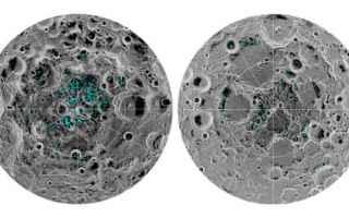 Astronomia: luna  acqua  ghiaccio
