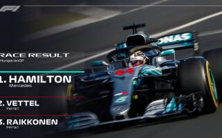 Il mondiale ricomincia in Belgio, a 25 giorni di distanza, dal Gran Premio dUngheria, con Hamilton e