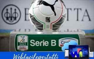 Serie B: calcio serie b  streaming partite tv