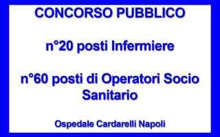 Bandito maxi CONCORSO ospedale Cardarelli Napoli<br />Con delibera del Direttore generale n. 775 de