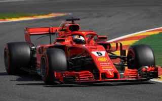 Anche nelle Libere 3, la Ferrari si conferma la macchina da battere a Spa, con Vettel il più veloce