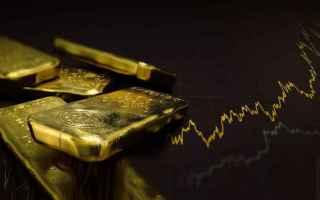quotazioni oro  economia  finanza