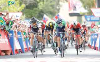 Seconda vittoria alla Vuelta 2018 di Valverde, che batte al fotofinish Sagan, dopo un bellissimo due