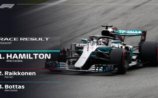 Capolavoro di Lewis Hamilton, che con due sorpassi perfetti su Vettel subito dopo il via, Raikkonen