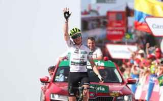 Ancora una fuga in porto alla Vuelta, con King che bissa la vittoria di Martedi, raggiungendo a quot