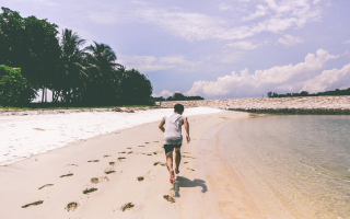 Fitness: allenamento  muscoli  piedi