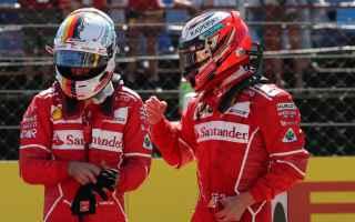 Formula 1: vettel  raikkonen  ferrari  formula 1