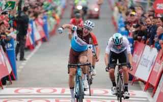 Altra fuga in porto alla Vuelta 2018, con Geniez che è riuscito ad aggiudicarsi la 12 tappa, vincen