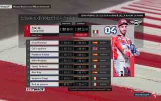 Inizio migliore del Gran Premio di San Marino, per le Ducati non poteva esserci, con Dovizioso primo