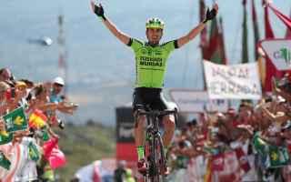 Nuovo arrivo in salita alla Vuelta, ed ancora gli uomini di classifica, lasciano andare la fuga, all