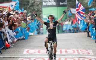 Grande battaglia, fra gli uomini di classifica, nella 14 tappa, Simon Yates dimostra di essere, il p