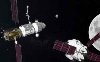 Astronomia: lunar gateway  luna